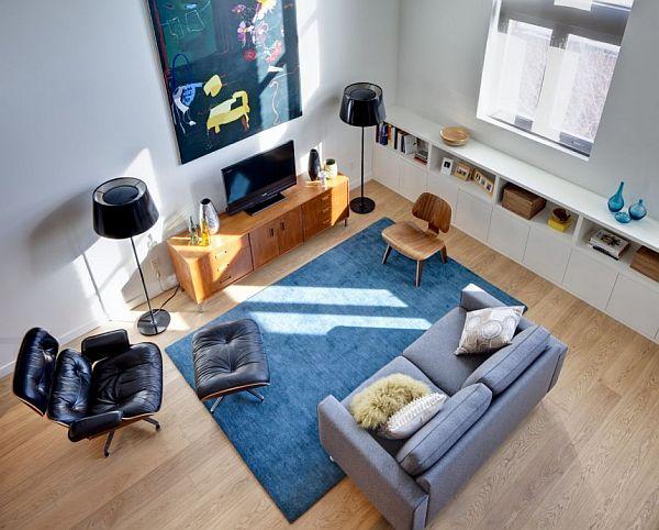 Charles Eames Lounge chair és ottomán