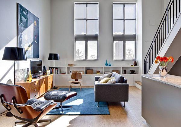 Loft lakás berendezési ötletek