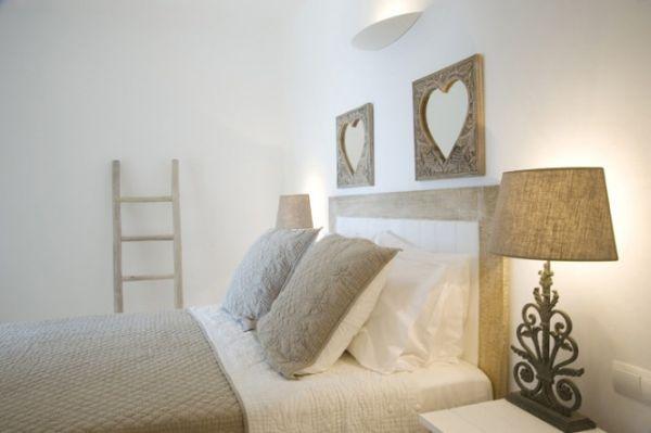 Romantikus hálószoba dekoráció