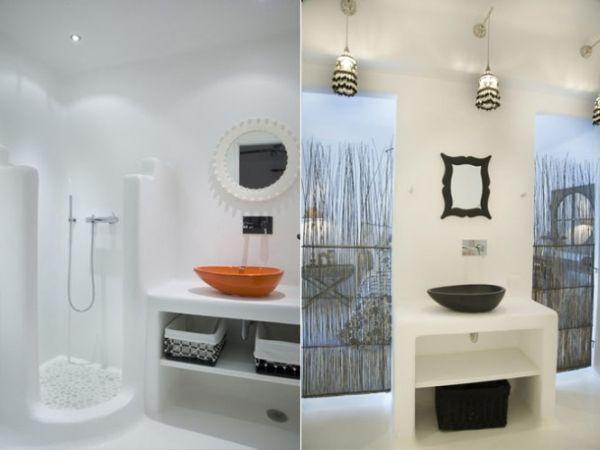Görög fürdőszoba mosdótál