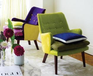 Designers Guild Essentials bútorkárpit és lakástextil kollekció
