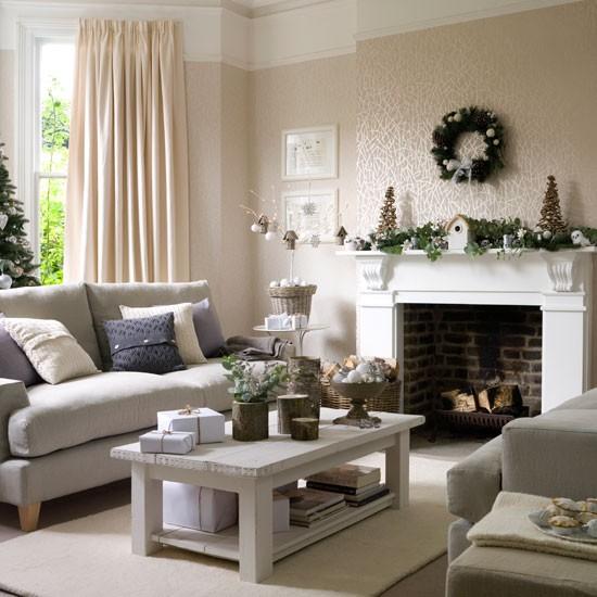 Karácsonyi dekorációs ötletek a nappali díszítéséhez