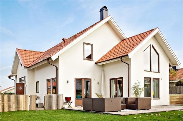 Lakberendez s otthon design blog skandin v csal di - Couleur exterieur maison contemporaine ...