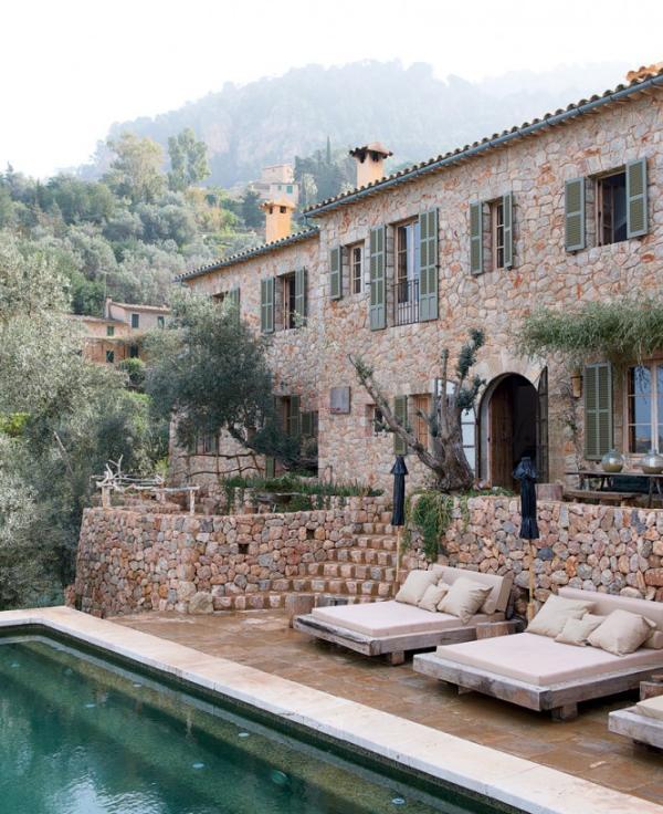 Egy megvalósult álom: Mediterrán kőház Mallorcán