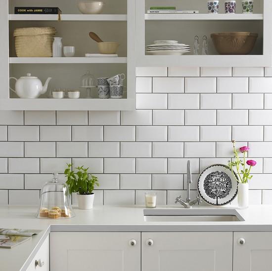 Bevelled Kitchen Wall Tiles: A Nagyvárosi Stílus Kelléke