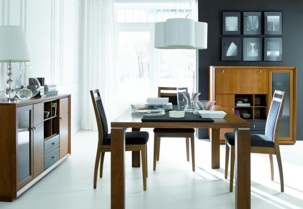 Klose modern étkező bútor, tálalószekrény, komód