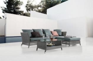Masszív és látványos polyrattan fonott kerti bútorok
