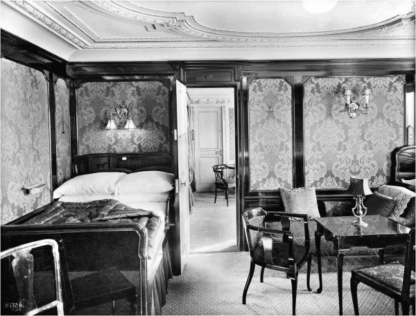 Titanic hálószoba enteriőr korhű kép