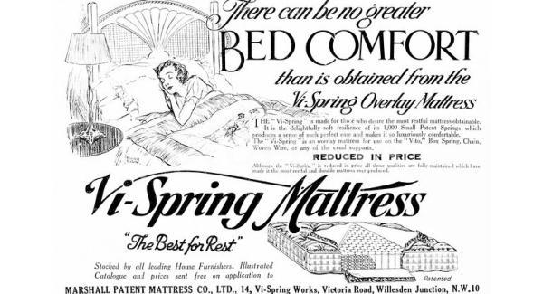 Vi-Spring korhű luxuságy és matrac reklám