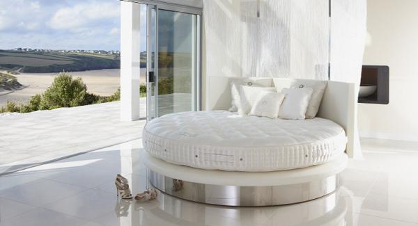 Vi-Spring modern és klasszikus kör alakú luxuságy