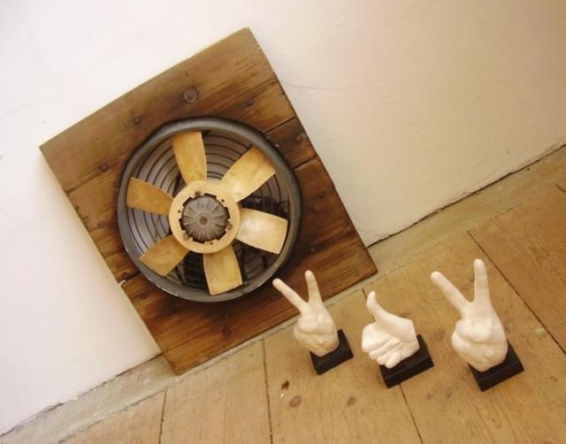 Régi ipari ventilátor