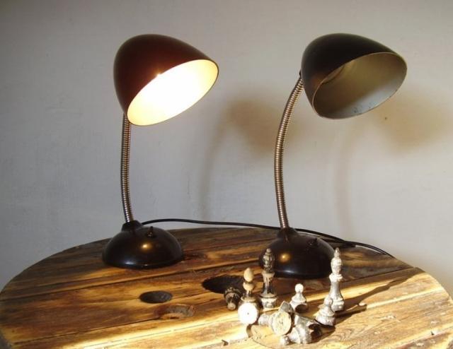 Íróasztali lámpa a 60-as évekből