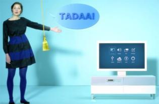 IKEA Uppleva TV, bútor, és Blu-ray lejátszó egyben