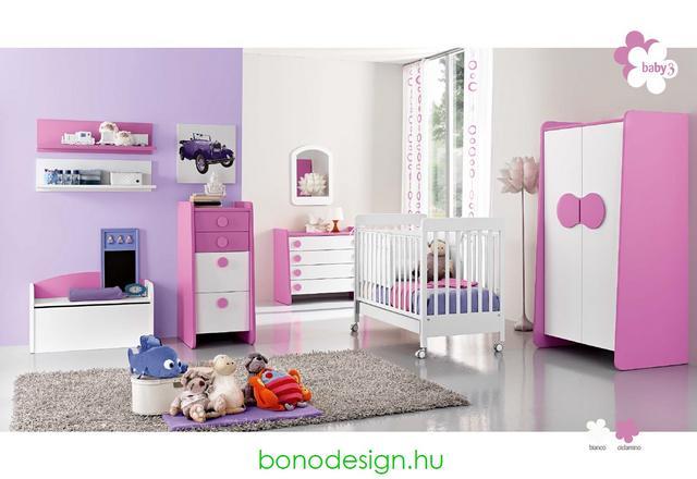 Rózsaszín bababútor