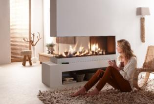 Minimál stílusú kandallók - a modern otthonok látványos kiegészítője