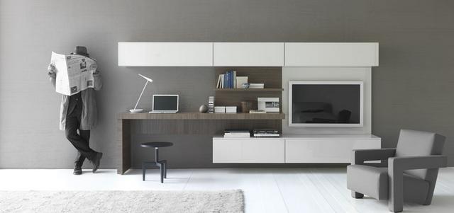 Nappali bútor és íróasztal kombináció