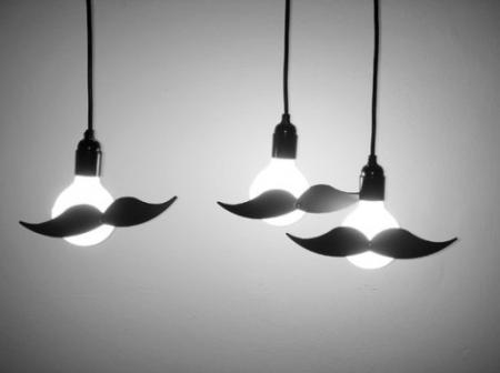 Bajusz lámpa