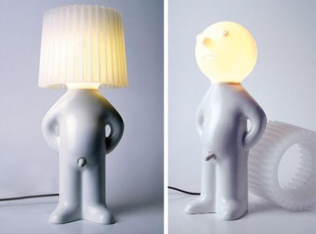 Asztali figurás lámpa