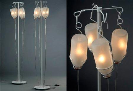 Infuzió lámpa