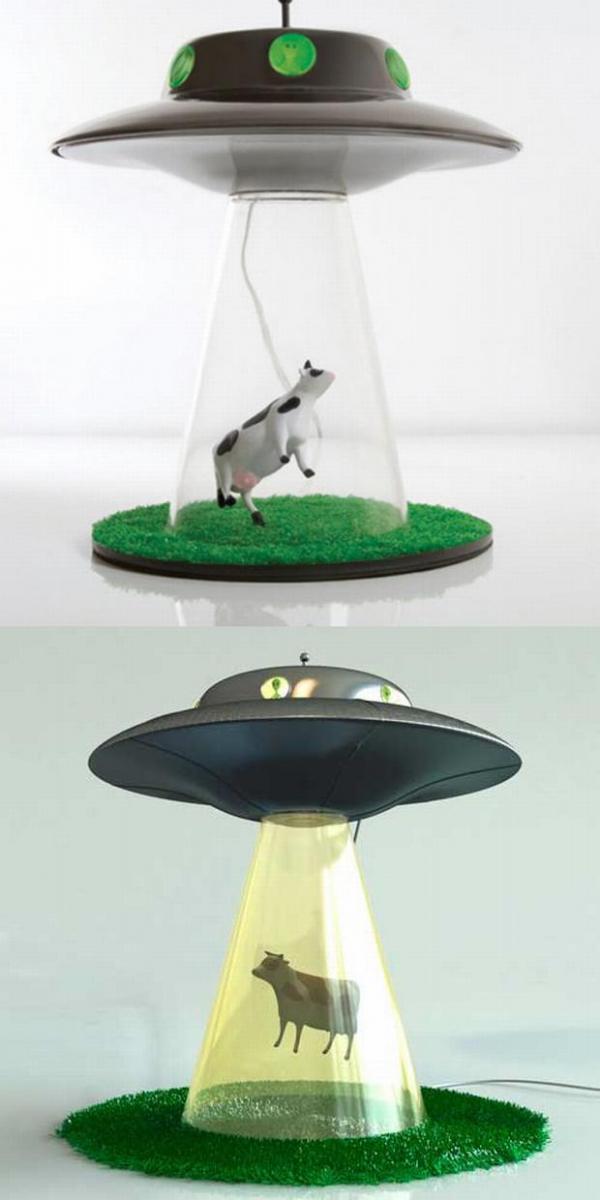 Ufó lámpa