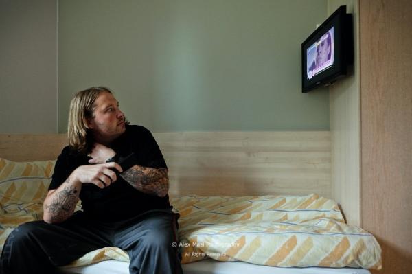 Lcd tv a börtönben