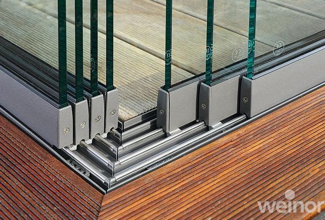 Weinor Terrazza - Üvegezett alumínium pergola rendszer