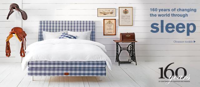 Hastens Jubilea ágy luxus kategória