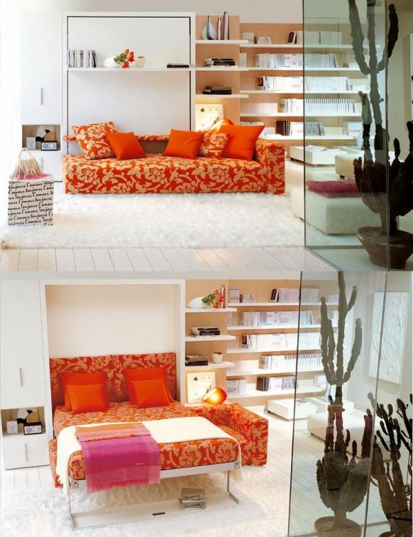 Ágyszekrény és kanapé