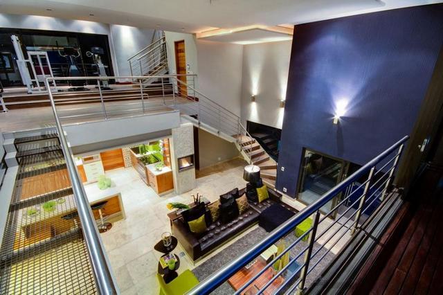 Modern belsőépítészeti térszervezés