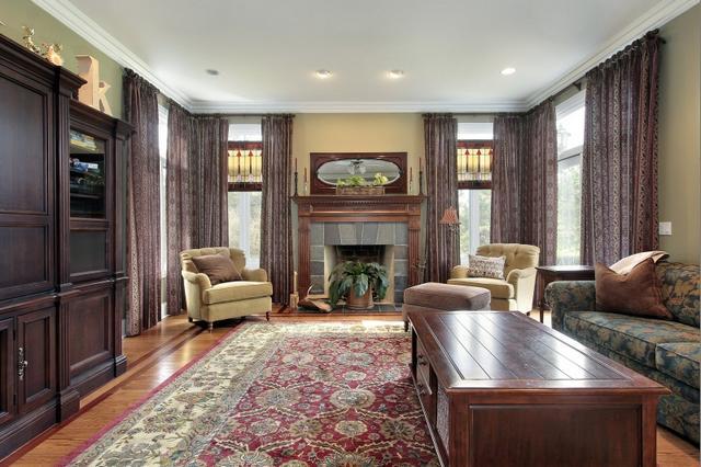 Kézicsomózású szőnyeg nappali