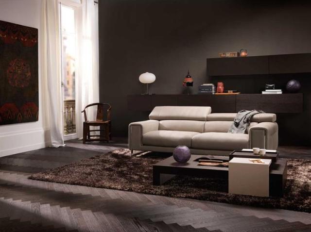 Natuzzi Etoile kanapé állítható fejtámasszal