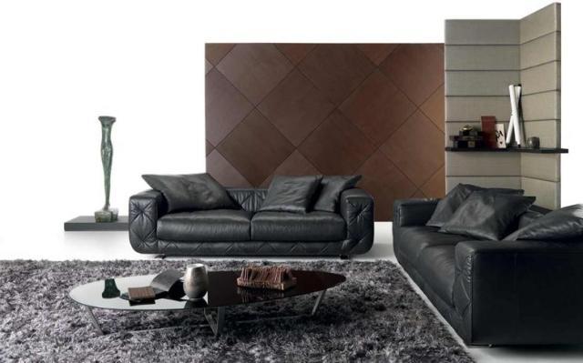 Natuzzi Soprano bőr kanapé