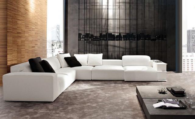 Doughy olasz fehér kanapé