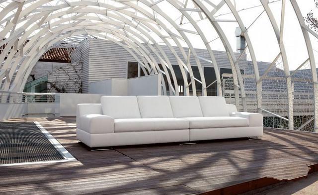 Lounge olasz kanapé design