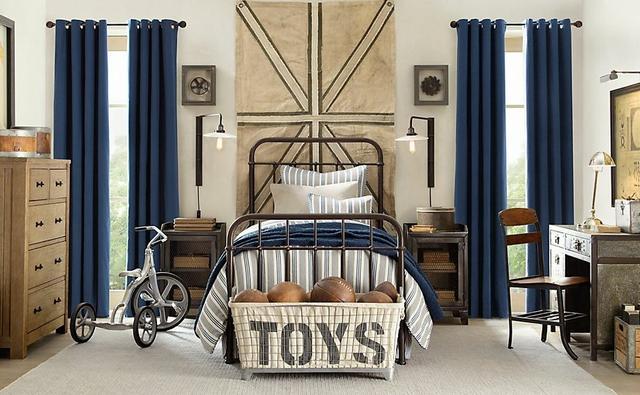 Gyerekszoba kovácsoltvas ágy
