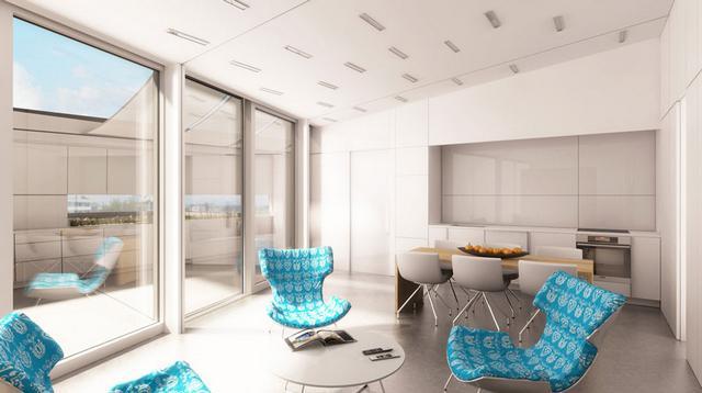 Odoo Project innovatív szolár ház nappali
