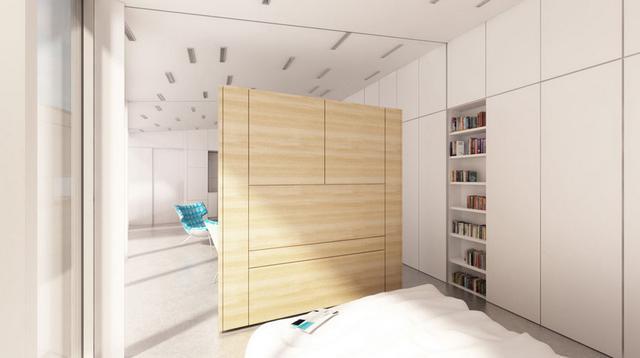 Odoo Project innovatív szolár ház hálószoba