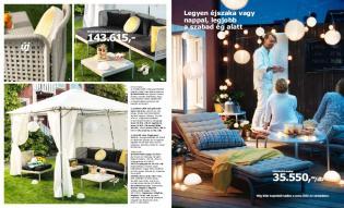 IKEA 2012 nyár - Trendi bútorok és dekoráció erkélyre, teraszra, kertbe