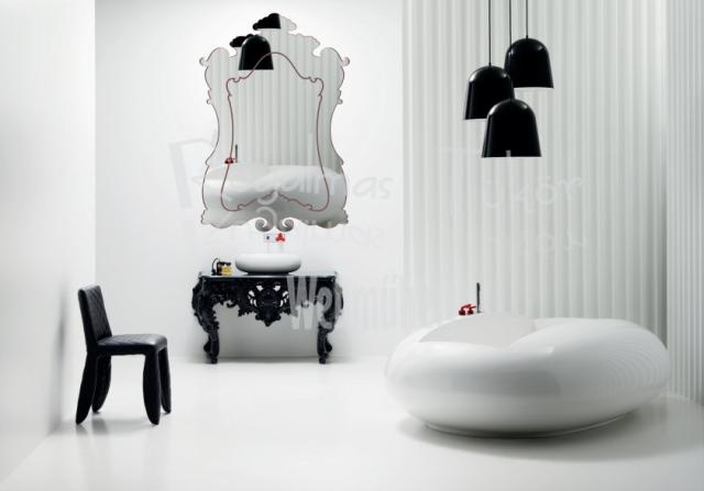 Valérie Bergée műanyag fürdőszobai tükör