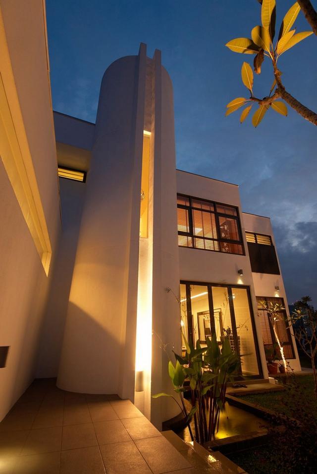 Bauhaus stílusú ház