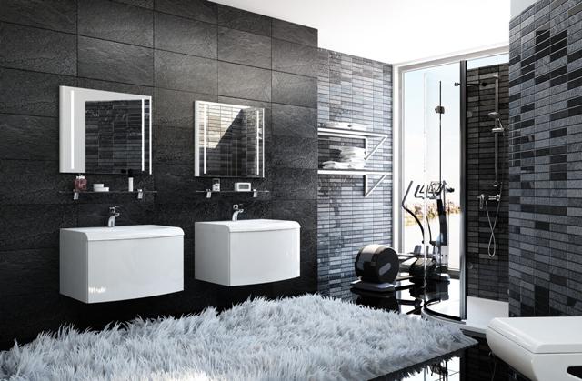 Ravak evolution fürdőszoba szekrény