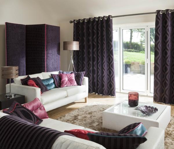 Dekorfüggöny modern otthonba