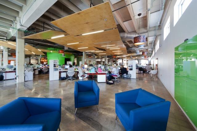 Modern iroda kék fotel