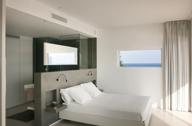 Hálószoba fürdőszobával