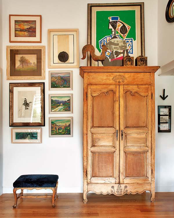Régi szekrény modern képek