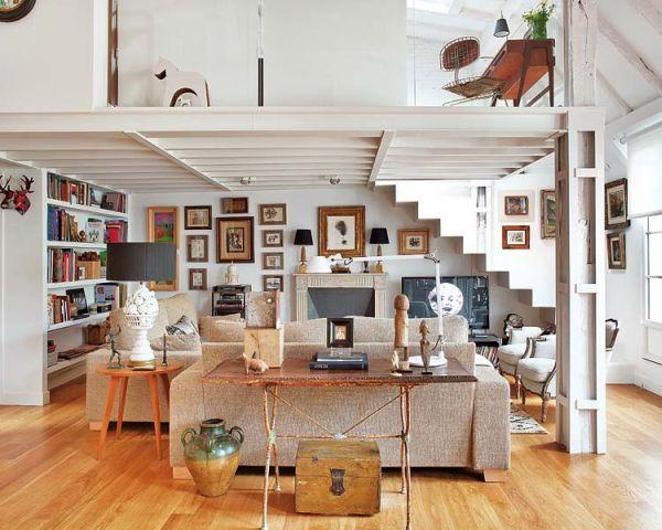 Spanyol eklektikus loft lakás