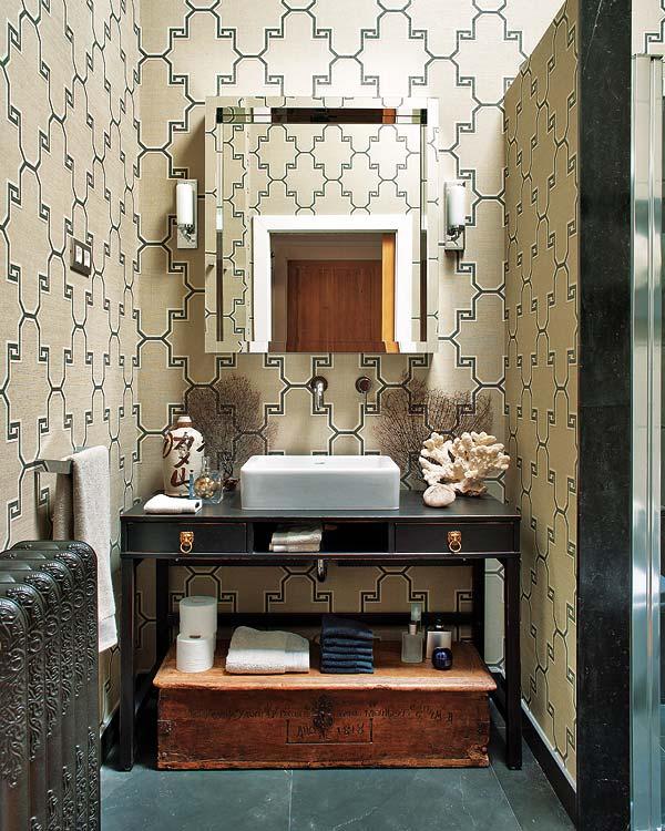 Mór stílusú fürdőszoba