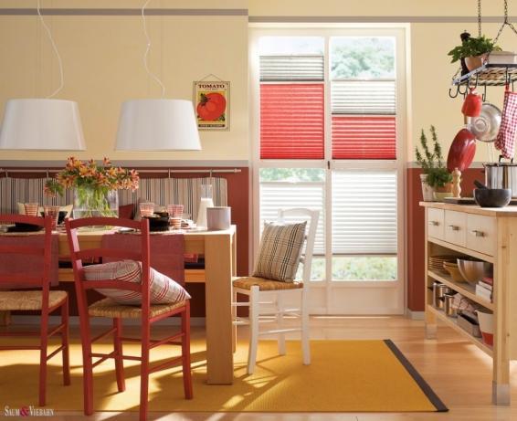 Pliszé függöny nappaliba