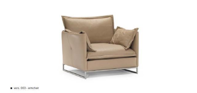 Natuzzi Cambre bőr fotel