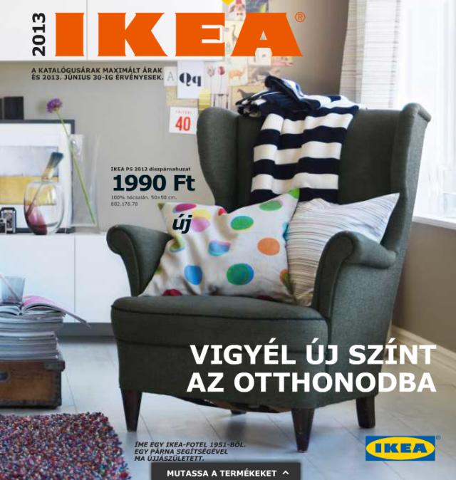 Ikea katalógus 2013 magyar
